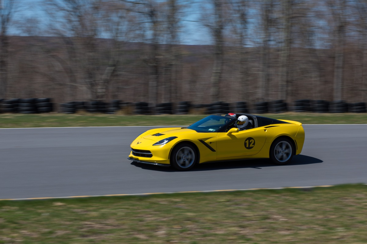 Track Day in a C7 Corvette